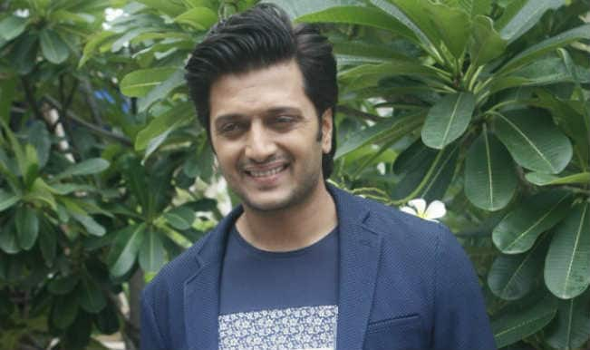 Riteish Deshmukh reminisces his first movie shot