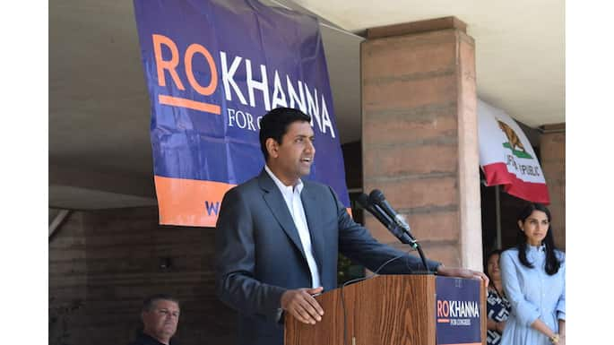 Congressional Candidate Ro Khanna Raises Over $1 Million