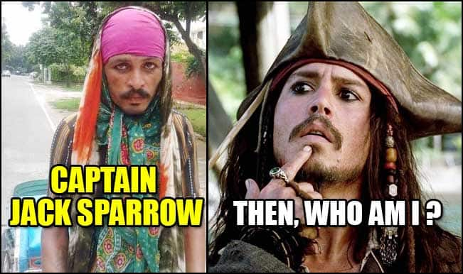 OMG! Johnny Depp aka Captain Jack Sparrow lookalike spotted in India – Pic goes viral on WhatsApp