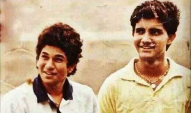 Sachin Tendulkar wishes Sourav Ganguly on birthday with a nostalgic picture!