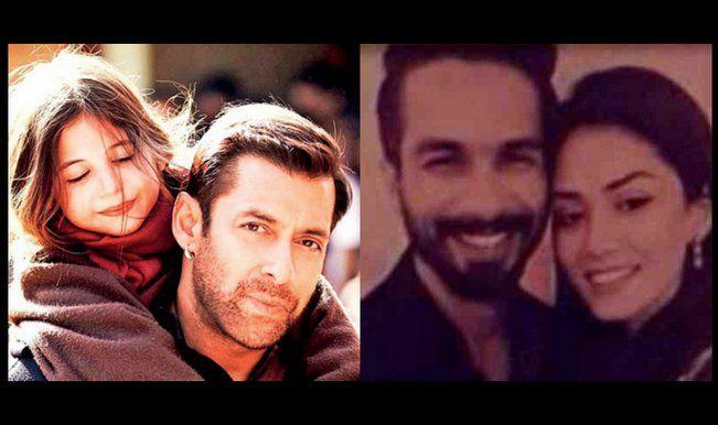 Salman Khan reveals details about Harshaali Malhotra; Shahid Kapoor all set for wedding to Mira Rajput!