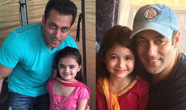 Salman Khan with Harshaali Malhotra in Bajrangi Bhaijaan or Salman Khan & Yeh Hai Mohabbatein's Ruhi – Who looks more adorable?