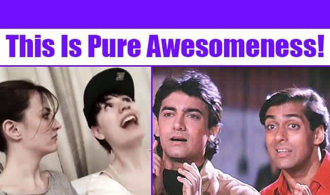 Andaz Apna Apna Dubsmash by 2 foreigners; This is pure awesomeness!