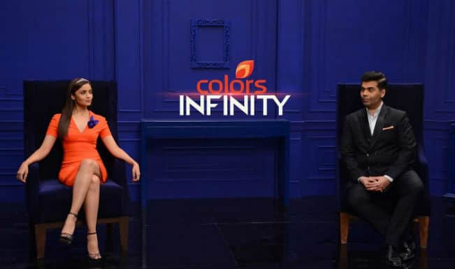 Alia Bhatt and Karan Johar to plan content, host shows for Viacom18′s English channel Colors Infinity