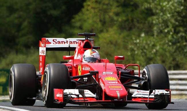 Sebastian Vettel takes second Ferrari win of 2015 at dramatic Hungarian Grand Prix