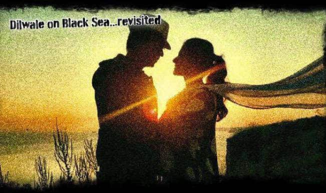 Shah Rukh Khan & Kajol revisits Black Sea for Dilwale: SRK tweets most romantic picture EVER!