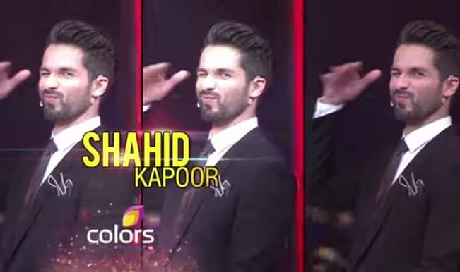 Jhalak Dikhhla Jaa 8: Watch Shahid Kapoor's dashing entry into Jhalak Dikhhla Jaa Reloaded!