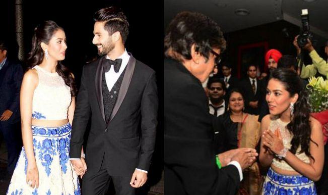 Shahid Kapoor-Mira Rajput wedding reception video: Bollywood celebrities on the red carpet