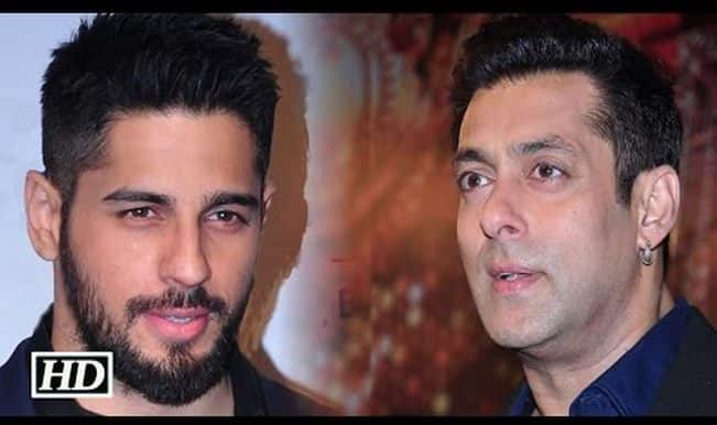 Salman Khan is Brothers actor Sidharth Malhotra's new mentor! (Watch video)