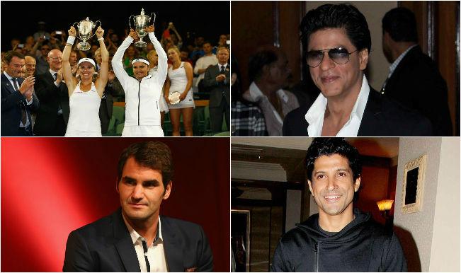 #SaniaMirza: Shah Rukh Khan, Farhan Akhtar, Roger Federer praise Indian tennis star for Wimbledon triumph