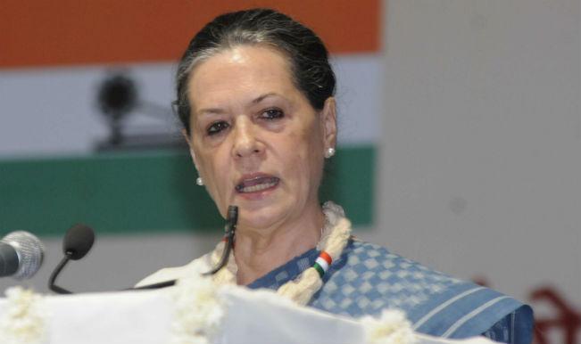 Sonia Gandhi condemns terror strike in Punjab