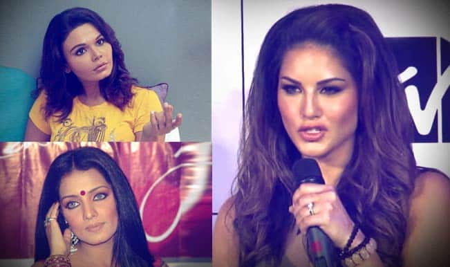 Watch: Sunny Leone hits back at Celina Jaitly and Rakhi Sawant for nasty comments