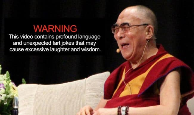 Birthday special: Dalai Lama's guide to happiness – and the art of farting!