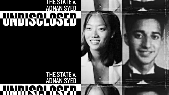 """""""Undisclosed"""" Podcast Examines the Baltimore Police Department's Mistakes While Investigating Hae Min Lee's Murder"""