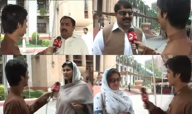 Funny! These Pakistani politicians try to speak English to impress a reporter; what happens next will leave you giggling
