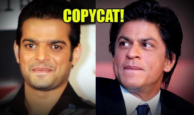 COPYCAT!  Yeh Hain Mohabbatein actor Karan Patel is wannabe Shah Rukh Khan! (Watch video to believe!)