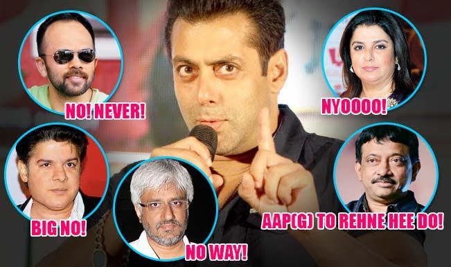 5 Filmmakers Salman Khan should NEVER work with after Bajrangi Bhaijaan's success