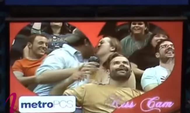 Best Kiss Cam Moments Gone Wrong 2015 – Funny Compilation Video