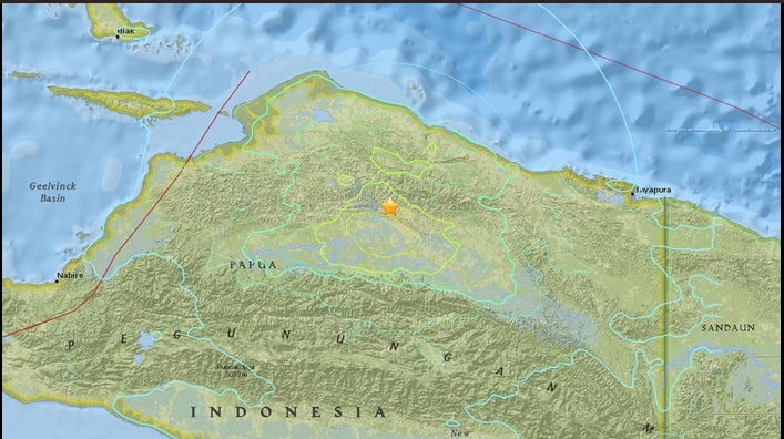 Strong earthquake hits Indonesia's Papua: USGS