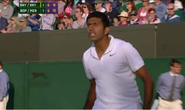 Wimbledon 2015: Rohan Bopanna-Florin Mergea stun Bob-Mike Bryan – Watch Video Highlights