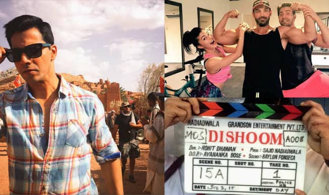 Dishoom: Varun Dhawan shares selfies from the sets of upcoming action adventure!