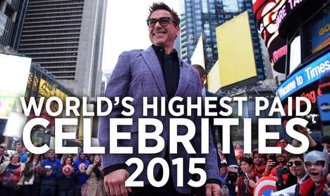 Forbes list: World's Top 10 Highest Paid Celebrities of 2015 – you will be surprised with who's No.1 (Watch video)