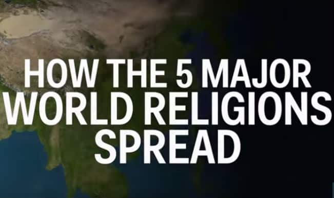 Origin Stories: How 5 major world religions spread! (Watch video)