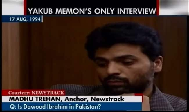 Yakub Memon Interview video surfaces online: 1993 Mumbai blasts convict exposes Tiger Memon's conspiracy!