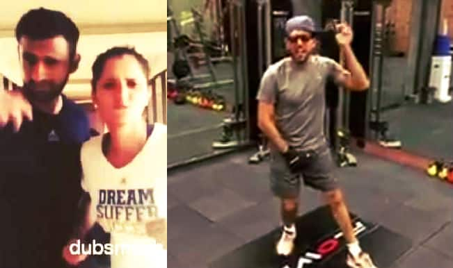 Yuvraj Singh does fab moonwalk after accepting Shoaib Malik's dance challenge!