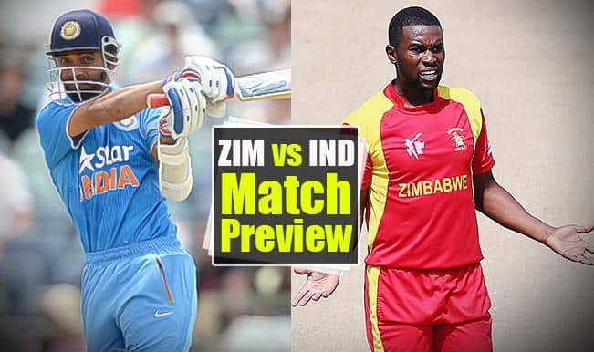 Zimbabwe vs India 1st ODI 2015, Match Preview: Second-string IND aim to impress against ZIM