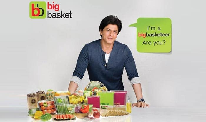 Image result for big basket shahrukh khan ad