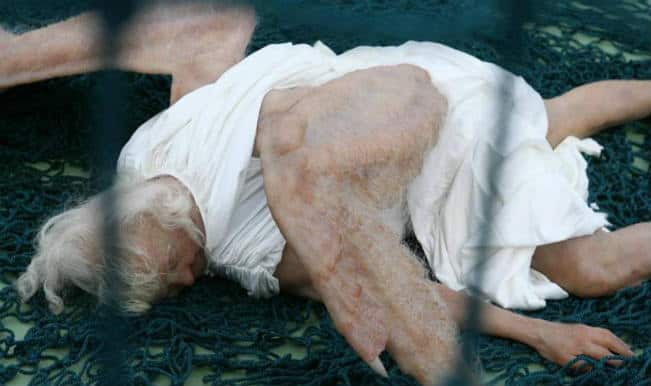 Real life Angel fallen from sky? Pictures of Human-like angel go viral on