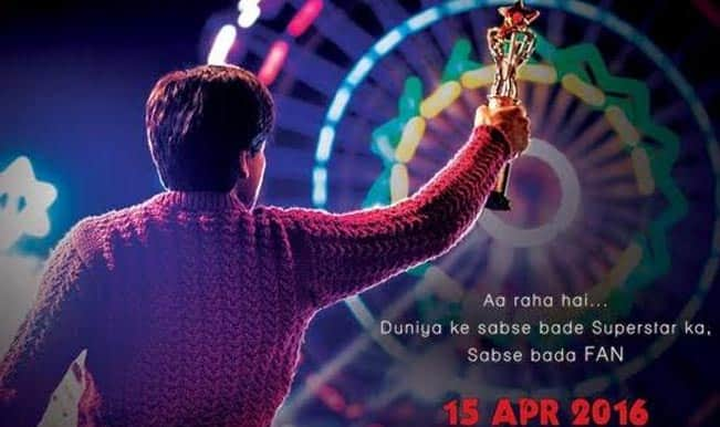 Shah Rukh Khan's FAN release date revealed with new poster: SRK in and as FAN release in April 2016