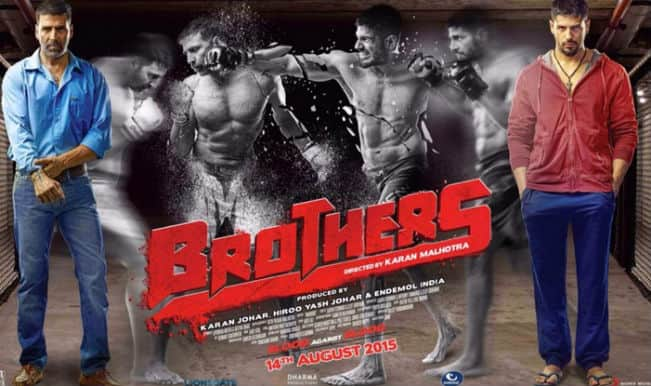 Brothers new poster: Are you people ready to watch Akshay Kumar against Sidharth Malhotra?