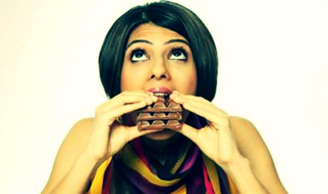 Wondering why do you wish to eat a chocolate bar after a stressful meeting?