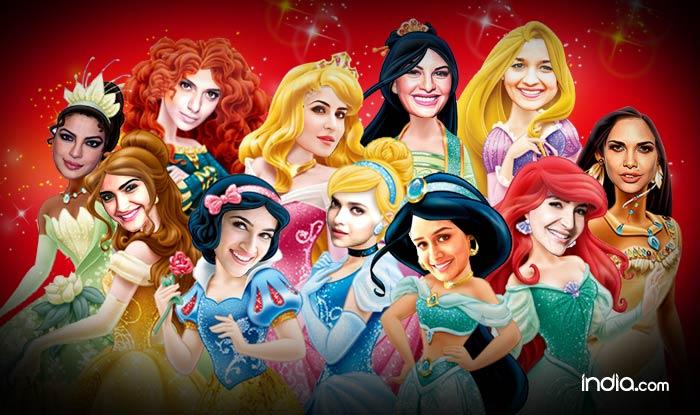 Katrina Kaif, Alia Bhatt, Priyanka Chopra, Deepika Padukone & Sonam Kapoor: Bollywood actresses as Disney Princesses!