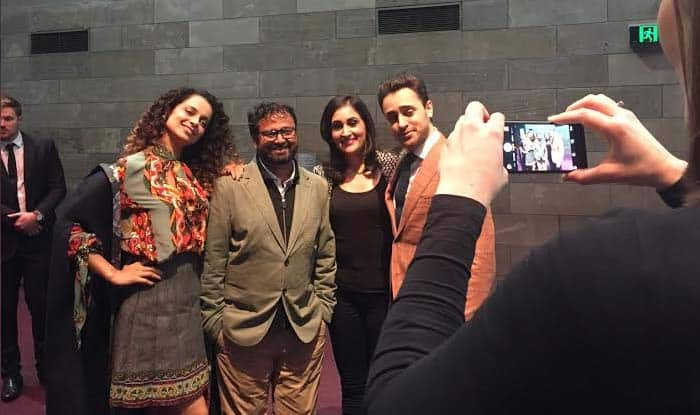 Kangana Ranaut & Imran Khan starrer Katti Batti screened at the Melbourne Film Festival