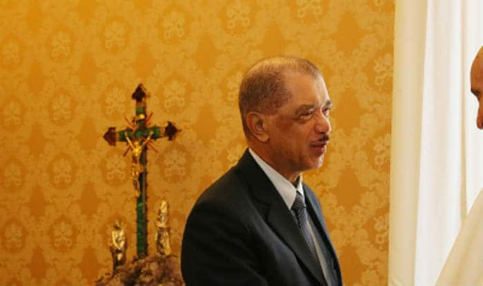 Seychelles president James Alix Michel accorded ceremonial reception at Rashtrapati Bhavan