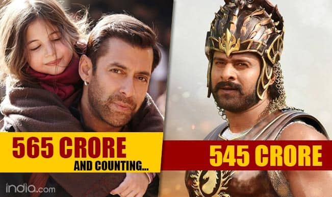 Salman Khan's Bajrangi Bhaijaan vs Prabhas' Baahubali collections: Who won race at Box Office?
