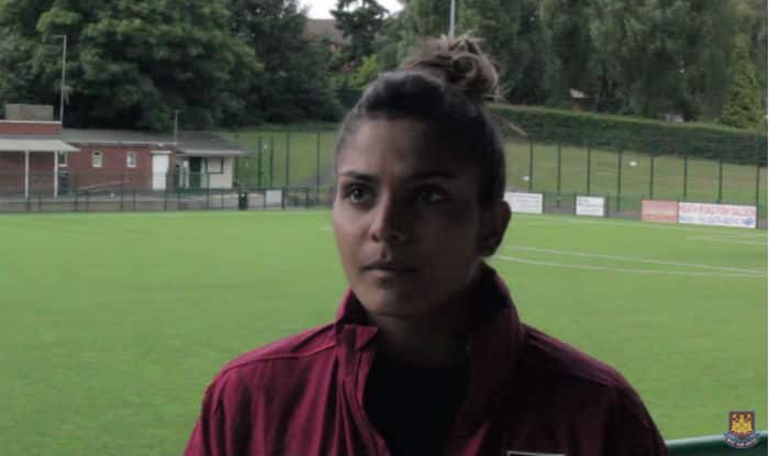 Aditi Chauhan becomes first Indian footballer in a Premier League club, West Ham United