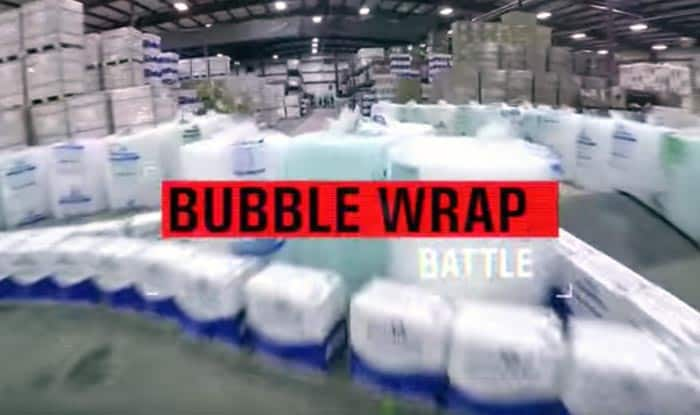 Bubble Wrap Battle: Don't you want to be a part of this awesome game?