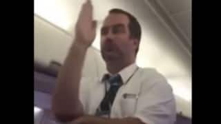 Watching this flight attendant perform hilarious safety demo will leave you in splits