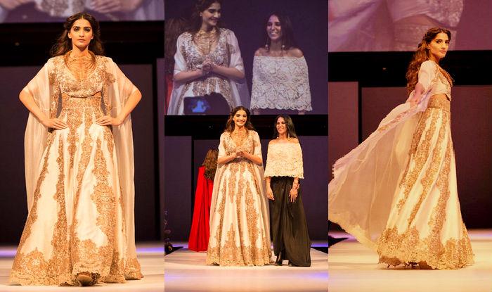 Sonam Kapoor looks stunning in Anamika Khanna ensemble