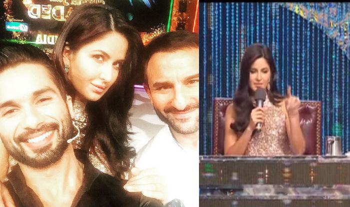 Why are Katrina Kaif, Shahid Kapoor and Saif Ali Khan talking about Ranbir, Mira and Kareena? (Watch Video)