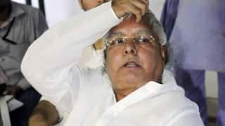 Babri Masjid demolition case: It's a conspiracy to prevent the presidential bid of Lal Krishna Advani, says Lalu Prasad Yadav