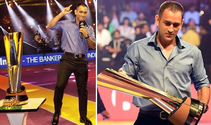 MS Dhoni shines with Alia Bhatt, Katrina Kaif & Saif Ali Khan in Pro Kabaddi League 2015 final! See Pics