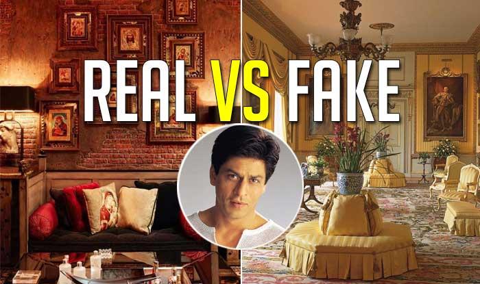 Have You Visited Shah Rukh Khanu0027s Mansion Mannat? Real Vs Fake (View Pics)