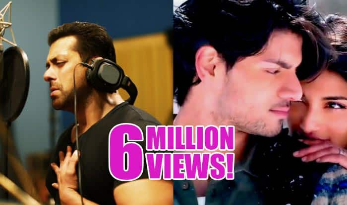 Salman Khan version of Main Hoon Hero Tera gets 6 million views!