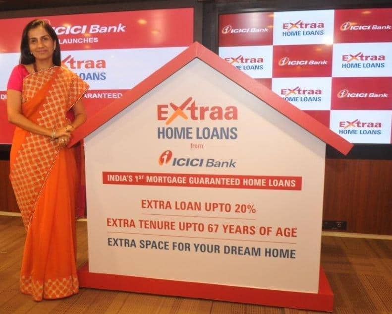 Chanda Kochhar unveils 'ICICI Bank Extraa Home Loans' with mortgage guarantee