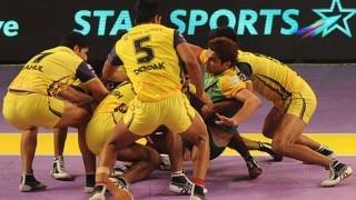 Hyderabad win third place, defeat Patna 34 - 26 | Pro Kabaddi League 2015 3/4 Position Live Score: Patna Pirates vs Telugu Titans Live Points Update